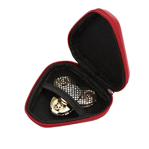 For Fidget Hand Spinner, Ouneed ® Para la mano a prueba de polvo Spinner EDC inquieto Spinner caja Focus juguete (Azul) rojo