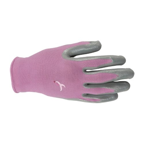 Wells Lamont 552MCLP Womens Latex Palm Coated Knit Glove, Pink, (Coated Palm Wells)