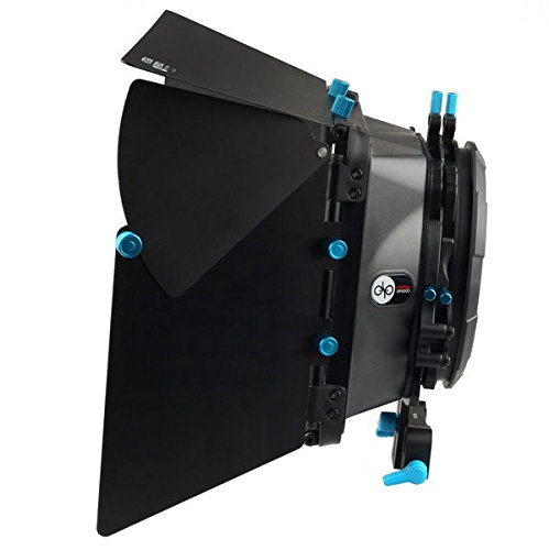 FOTGA DP3000 M2 Pro Matte Box Sunshade with Donuts & Filter Trays for 15mm Rod DSLR Rig 5D II III 7D 6D D90 GH2 by FOTGA