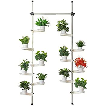 Amazon.com : Baoyouni 5-Layer Tension Pole Plant Stands