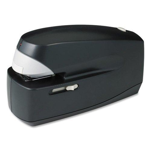 Electric Stapler, 25 Sheet Cap, 35mm Throat, Black, Sold as 1 Each - Business Source Electric Stapler, 25 Sheet Cap, 35mm Throat, Black