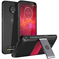 [Kit Especial Amazon] Smartphone Motorola Moto Z3 Play 128GB + Moto Snap Power Pack & TV Digital, Ônix