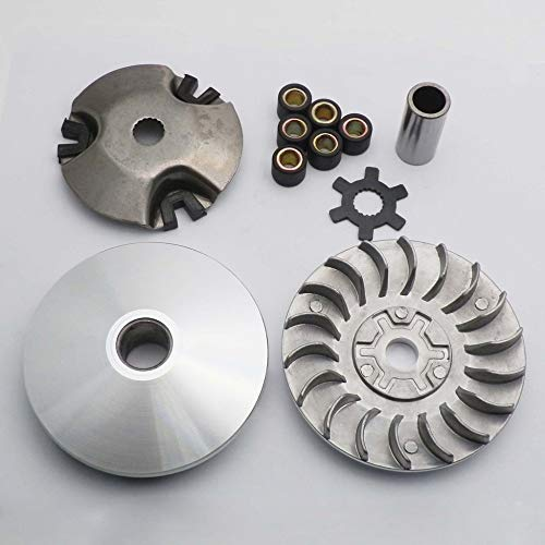 Sala-Ctr - Motorcycle Variator Front Clutch 21mm for Minarelli Jog 49cc  50cc ZUMA Chinese Scooter ATV Moped Buggy Parts