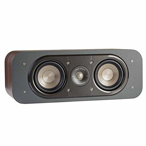 Polk Audio Signature Series S30 American Hi-Fi Home Theater Center Speaker (Classic Brown Walnut)
