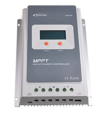 EPEVER MPPT Solar Charge Controller 100V PV input Tracer A Series With LCD Display