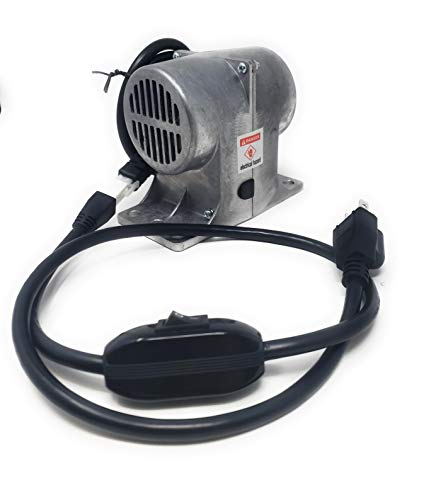 (120V Vibrating Massage Motor for Bed, Table, or Chair (With)