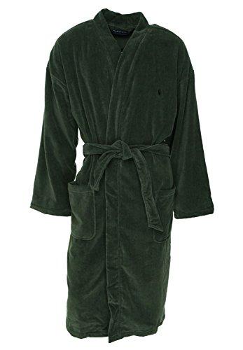 (Polo Ralph Lauren Kimono Robe (RL91) L/XL/Smokey Black)