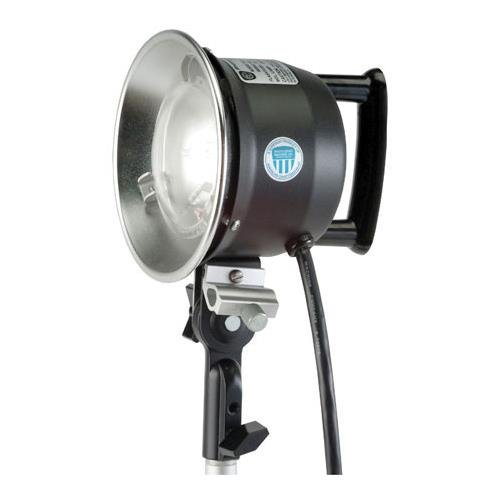 Photogenic Flash Head with 6'' Reflector for Photogenic Flashmaster Power Packc by Photogenic