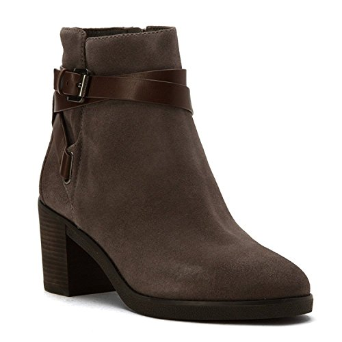 MICHAEL Michael Kors Women's Fawn Bootie Storm Sport Suede/Soft Cow Leather Boot 8 M