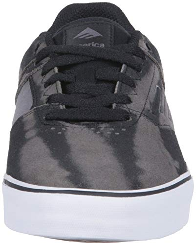 da Reynolds da Emerica Grey Black Low Skateboard Grey The Vulc Scarpe Uomo 0gpx1wqp