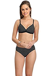 f9b809e55 Selfcare Women s Padded Bra and Panty Set  Amazon.in  Clothing ...