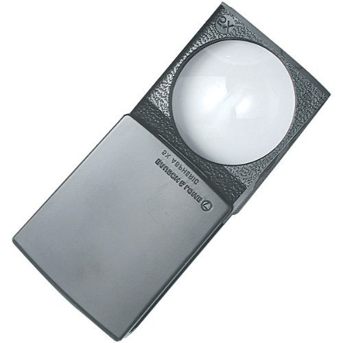 Bausch and Lomb Pocket 5X Magnifier by MAGNIFYING AIDS