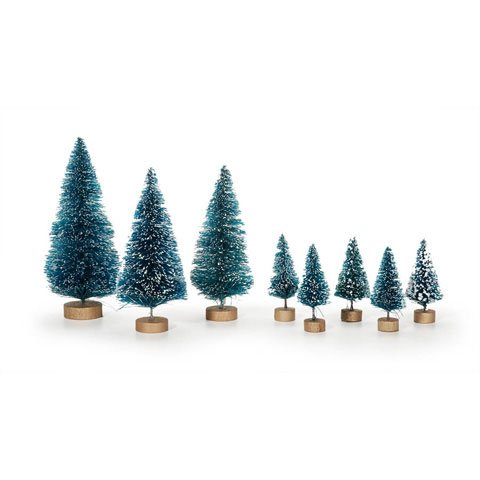Darice & Catan Floral DAR1616.29 Holiday Sisal Christmas Tree Mini Assorted 8 Pieces44; Pack of 3