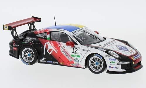Porsche 911 (991) GT3 Cup, No.12, Carrera Cup Italia, 2017, Model Car,, Spark 1:43 (Gt3 Cup Porsche)