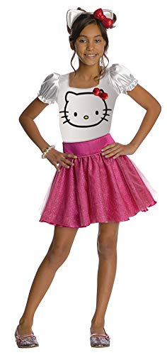 Cheap Hello Kitty Costume (Hello Kitty Tutu Dress Child Costume -)