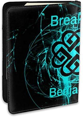 Breaking Benjamin ブレイキング ベンジャミン パスポートケース メンズ 男女兼用 パスポートカバー パスポート用カバー パスポートバッグ ポーチ 6.5インチ高級PUレザー 三つのカードケース 家族 国内海外旅行用品 多機能