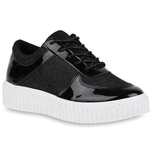 Bottes Femmes Plateau De Paradis Sneaker Flandell Noir M