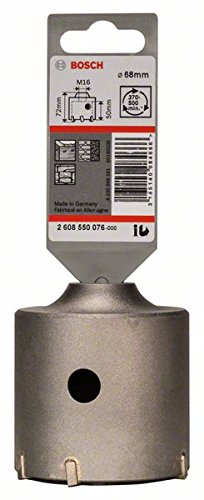 2608550076 BOSCH 68 X 50 X 80 MM 6 TOOTH SDS-PLUS-9 CORE CUTTER