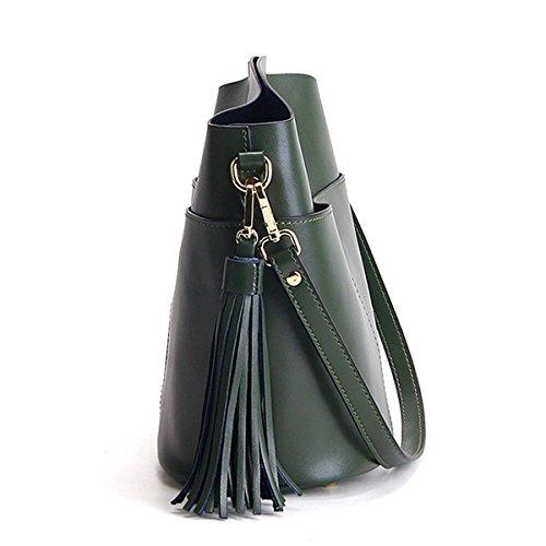 main Vert à portés en bandoulière Sac femme fashion cuir LF E épaule Girl M169 Sac Sac wPTnZxX0qI