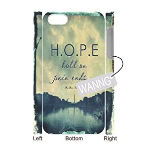 Hold on pain ends Iphone4,4g,4s Durable 3D Case. Hold on pain ends Custom Case for Iphone4,4g,4s at WANNG
