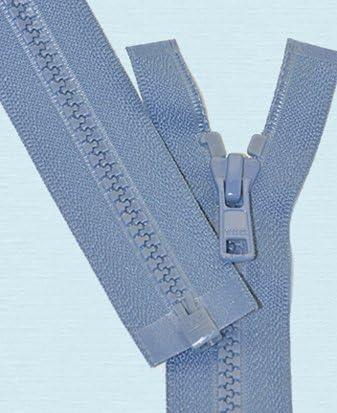 36\ Vislon Zipper ~ YKK #5 Molded Plastic ~ Separating 145 Blue Jay 1 Zipper// Pack