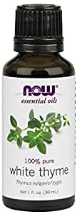 NOW White Thyme Oil, 1-Ounce