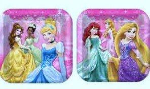 (Hallmark Disney Very Important Princess Dream Party Dinner Plates 8 Ct)