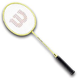 Wilson Matchpoint Badminton Racket (Yellow, 660 mm)