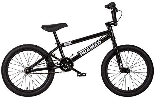 Framed Impact 18 BMX Bike Kids Black/Silver