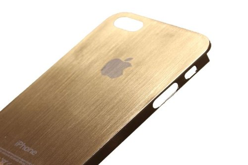 iphone 5s gold case. iphone 5 luxury full metal case - gold 5s