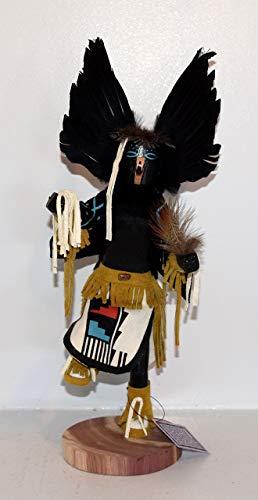 12 INCH Crow Kachina (Doll Owl Kachina)