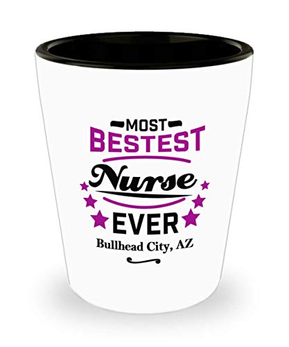 Funny Shot Glass For Nurses: