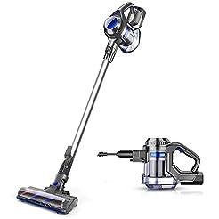 MOOSOO Cordless Vacuum 10Kpa Powerful Su...