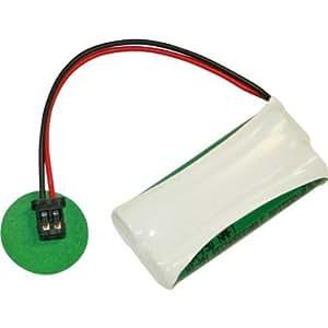 UltraLast BATT-1008 Níquel-metal hidruro (NiMH) 750mAh 2.4V batería recargable - Batería/Pila recargable (750 mAh, Níquel-metal hidruro (NiMH), 2,4 V, Amarillo)
