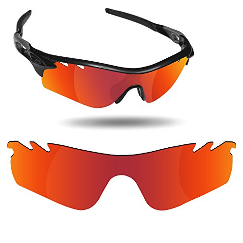 Fiskr Anti-Saltwater Replacement Lenses for Oakley RadarLock Path Vented Sunglasses - Various ()