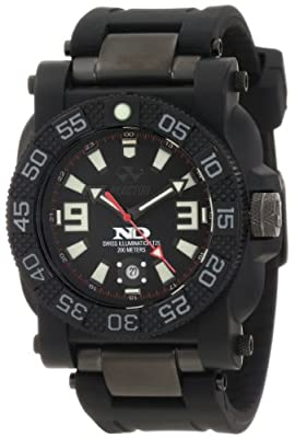 "REACTOR Men's 73801""Gryphon"" Watch with Black Rubber Band from REACTOR"
