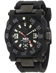 REACTOR Men's 73801 'Gryphon' Watch with Black Rubber Band