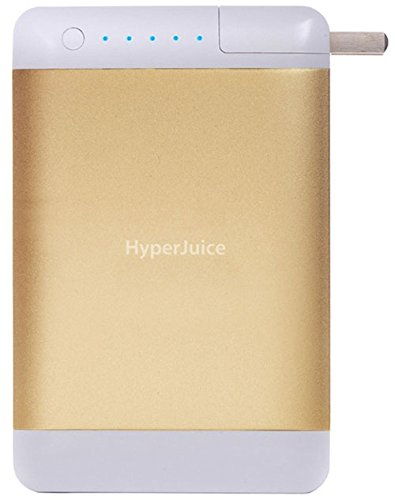 HyperJuice Plug External Battery - Battery - Retail Packaging - Gold by HyperJuice