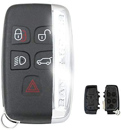 5 Tasten Autoschlüsselgehäuse Für Land Rover Discovery Elektronik
