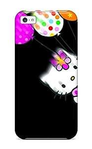 Heidiy Wattsiez's Shop Hot Tpye Hello Kitt And Aliens Case Cover For Iphone 5c 5518946K46121715
