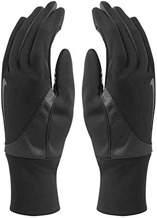 Men's Dri-Fit Tailwind Run Gloves (Medium, Black/Anthracite)