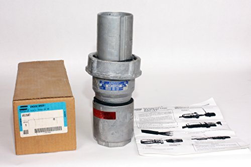 CROUSE-HINDS APJ10487 RECEPTACLE PLUG 100AMPSNEW IN BOX ()