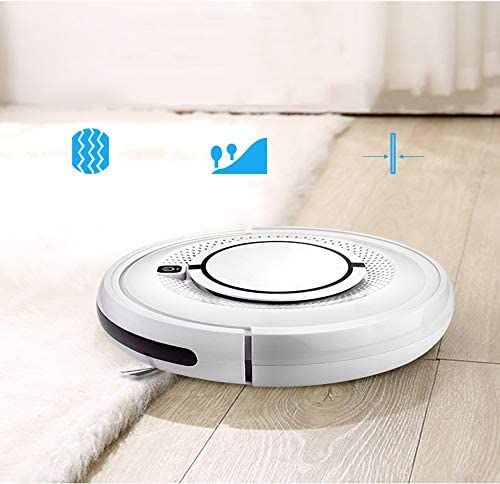 3 en 1 Robot Aspirateur Quiet Super-Thin Cleaner Eponger Floor Avec Smart Robotic Cleaner Pour plancher dur Tapis Carrelage Pet Care cheveux