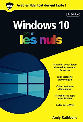 Amazon Com Windows 10 Poche Pour Les Nuls 2e Poche Nuls