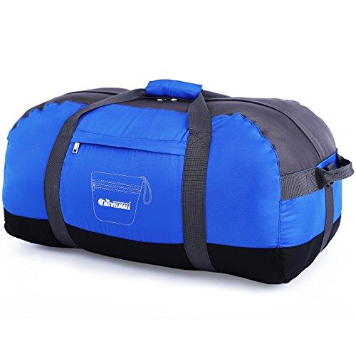 Travelmall Foldable Travel Duffel Bag Luggage For Women