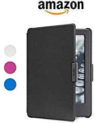 Amazon Cover for Kindle, Protective and Form Fitting Case for All-New Kindle (8th Generation, 2016) - Black