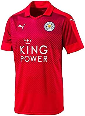 5fecc313b15 PUMA Leicester City Away Jersey [Red] (S). Back. Double-tap to zoom