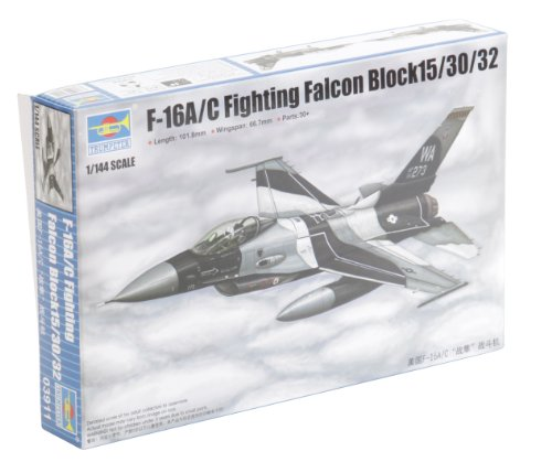Fighting Falcon Aircraft Kit - Trumpeter F-16A/C Fighting Falcon Block 15/30/32 Aircraft Model Kit