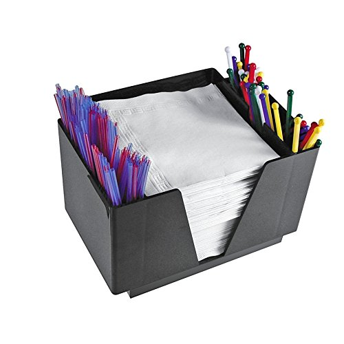 Co-Rect Plastic Bar Caddy with 6 Compartments