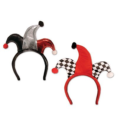 Jester Headbands Party Accessory (1 count) (1/Pkg)